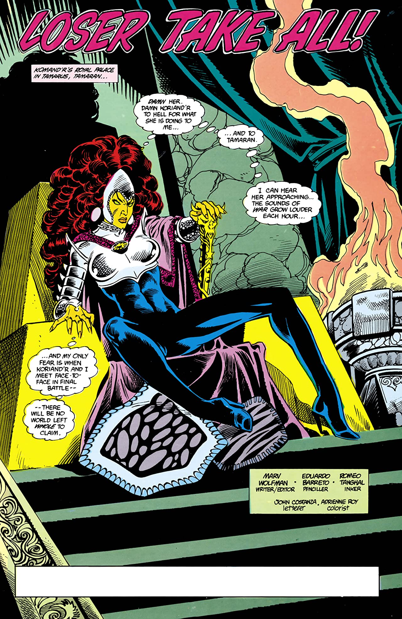 The New Teen Titans (1984-1996) #23