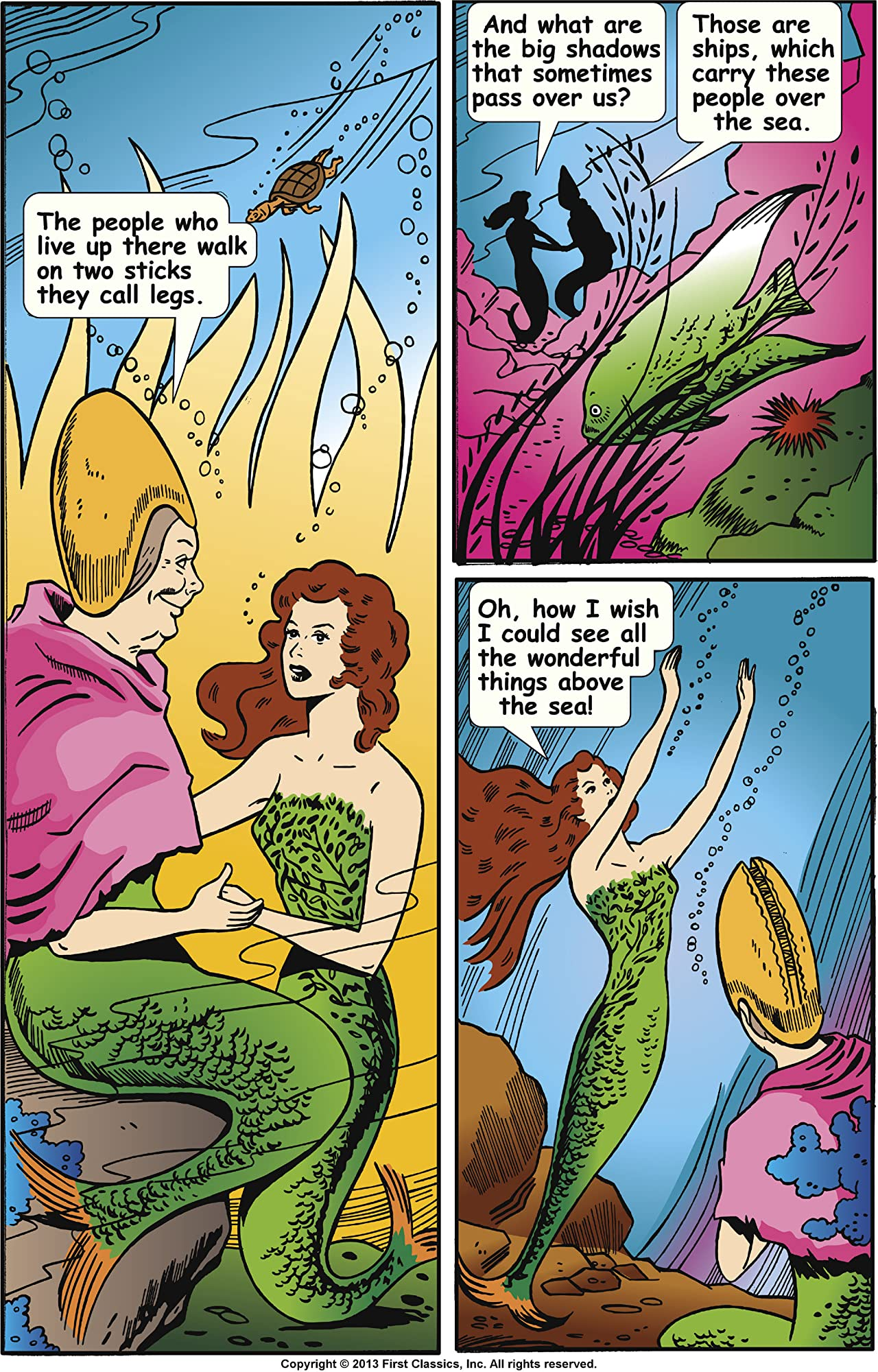 Classics Illustrated Junior #525: The Little Mermaid