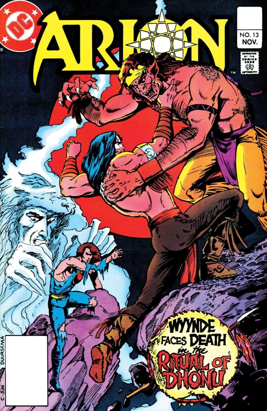 Arion, Lord of Atlantis (1982-1985) #13
