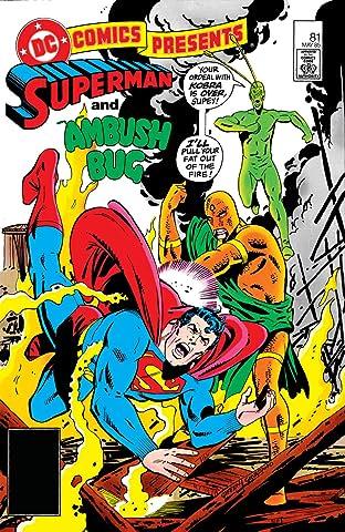 DC Comics Presents (1978-1986) #81
