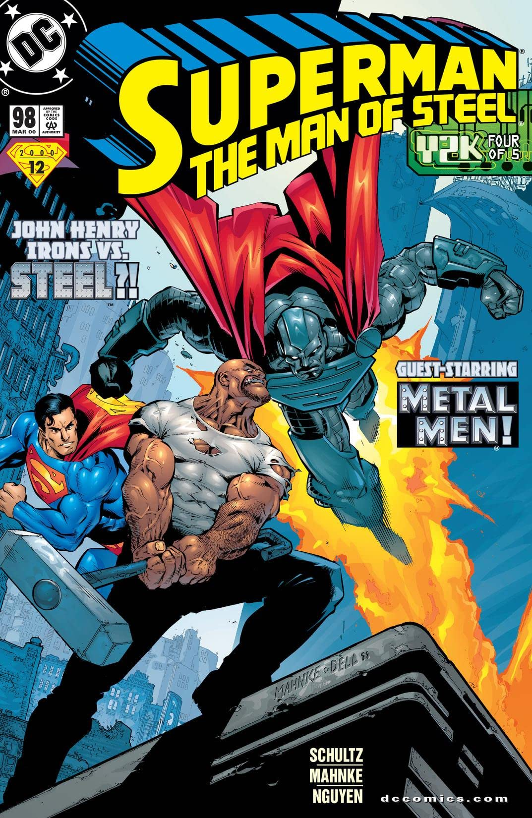 Superman: The Man of Steel (1991-2003) #98