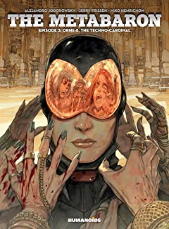 The Metabaron Vol. 3: Orne-8, The Techno-Cardinal
