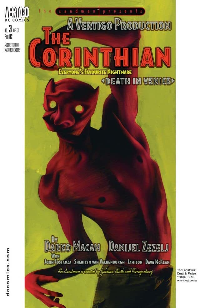 The Sandman Presents: The Corinthian #3 (of 3)