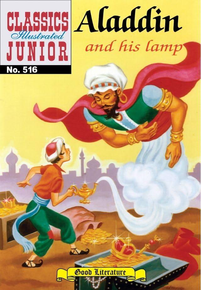 Classics Illustrated Junior #516: Aladdin and His Lamp