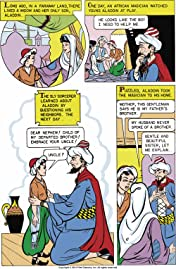 Classics Illustrated Junior #516: Aladdin and His Lamp