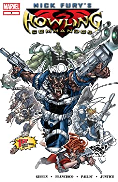 Nick Fury's Howling Commandos (2005-2006) #1