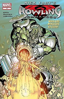 Nick Fury's Howling Commandos (2005-2006) #2