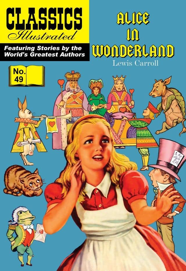 Classics Illustrated #49: Alice in Wonderland