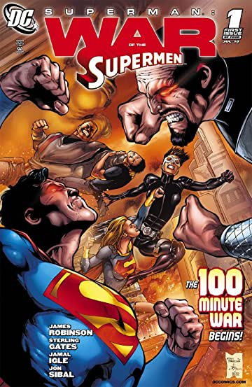 Superman: War of the Supermen #1