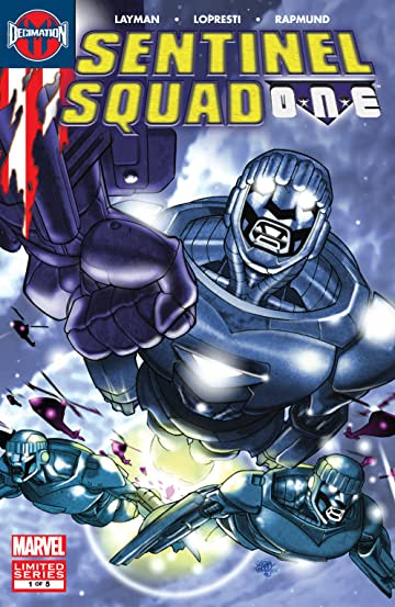 Sentinel Squad One (2006) #1 (of 5)