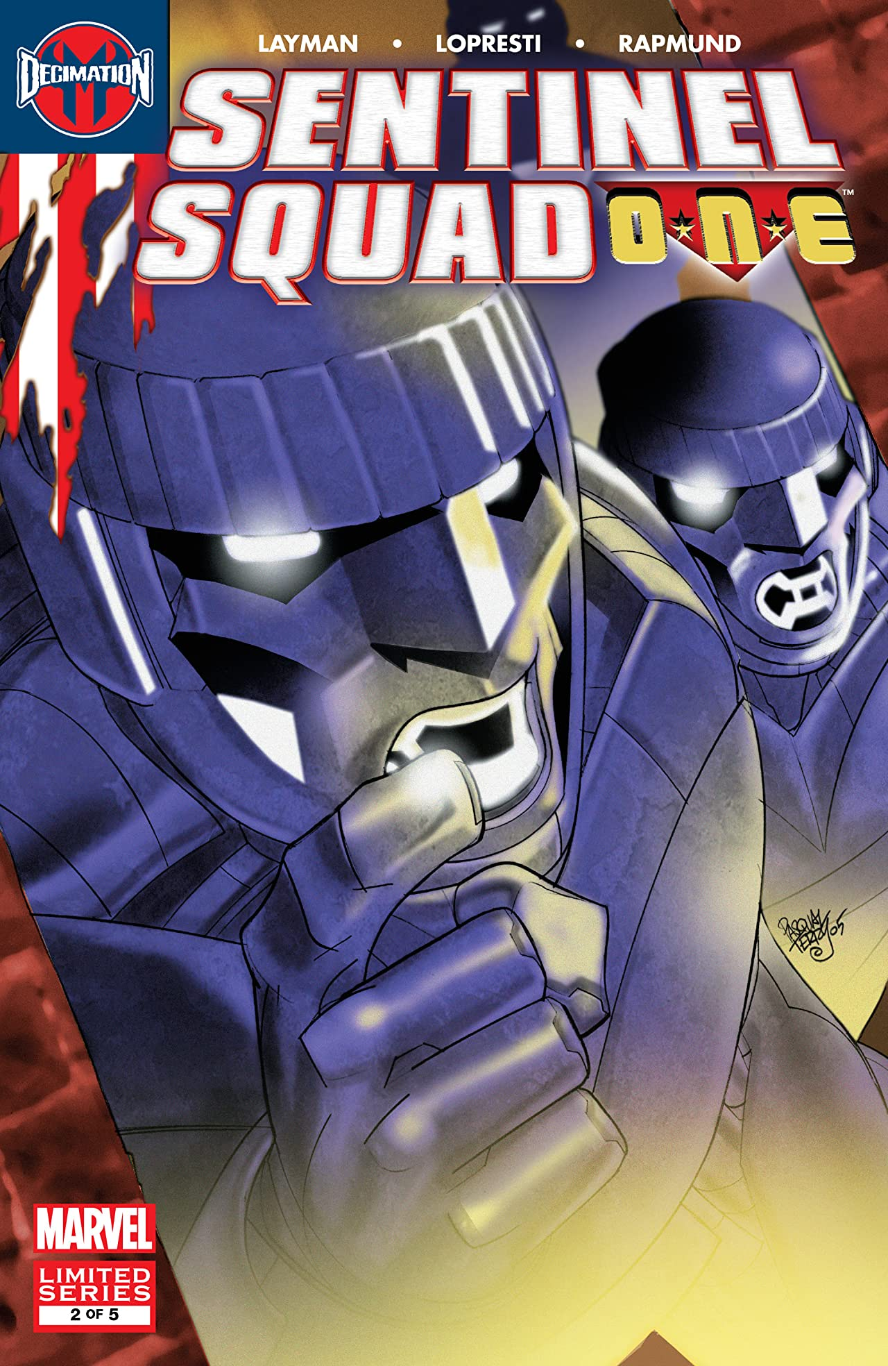 Sentinel Squad One (2006) #2 (of 5)