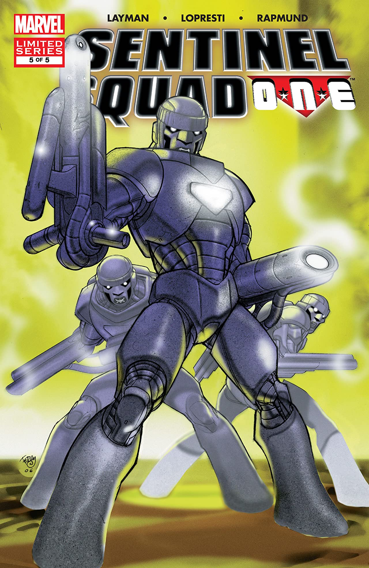 Sentinel Squad One (2006) #5 (of 5)