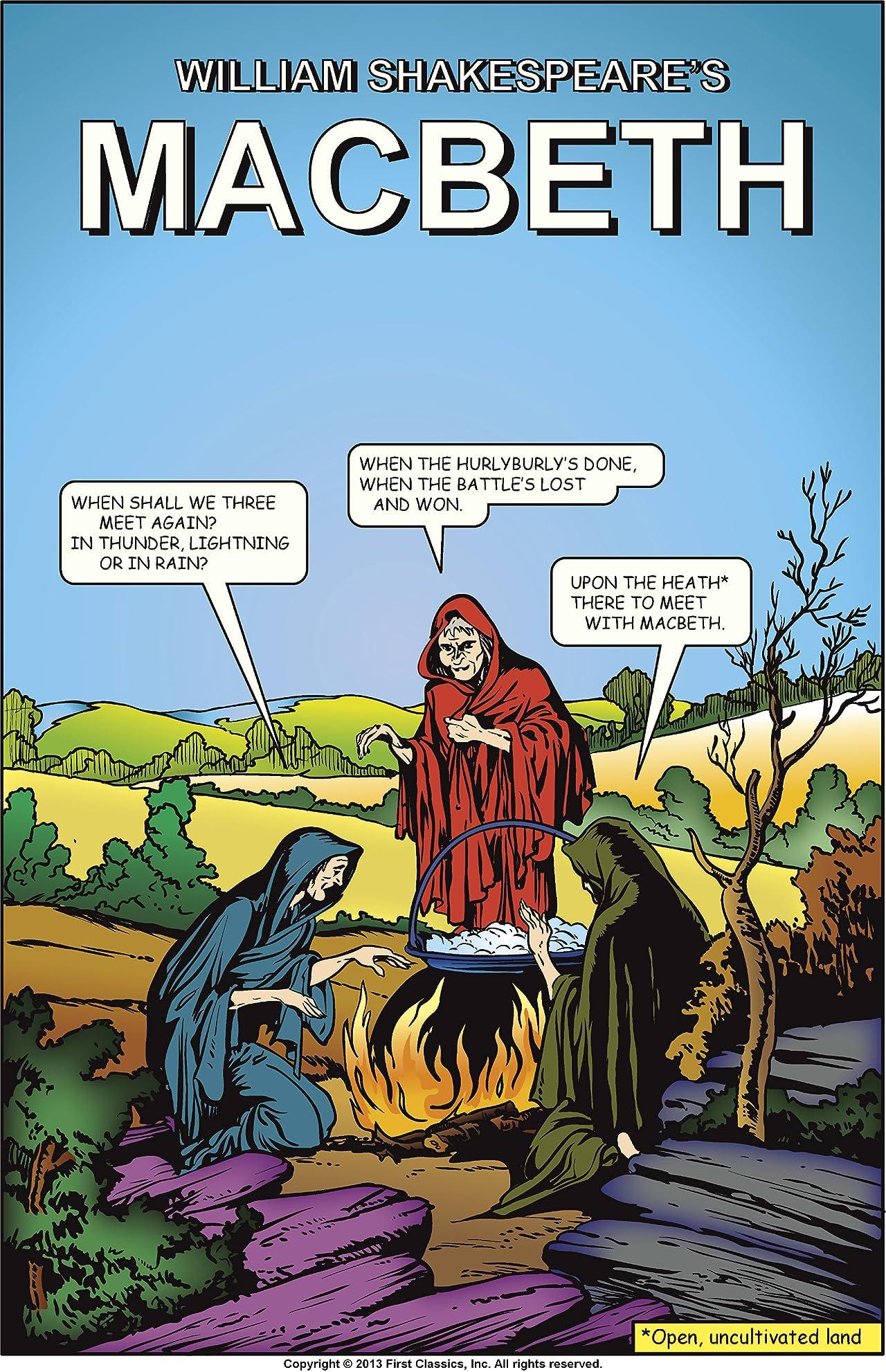 Classics Illustrated #128: Macbeth