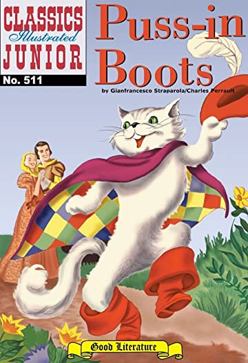 Classics Illustrated Junior #511: Puss-In-Boots
