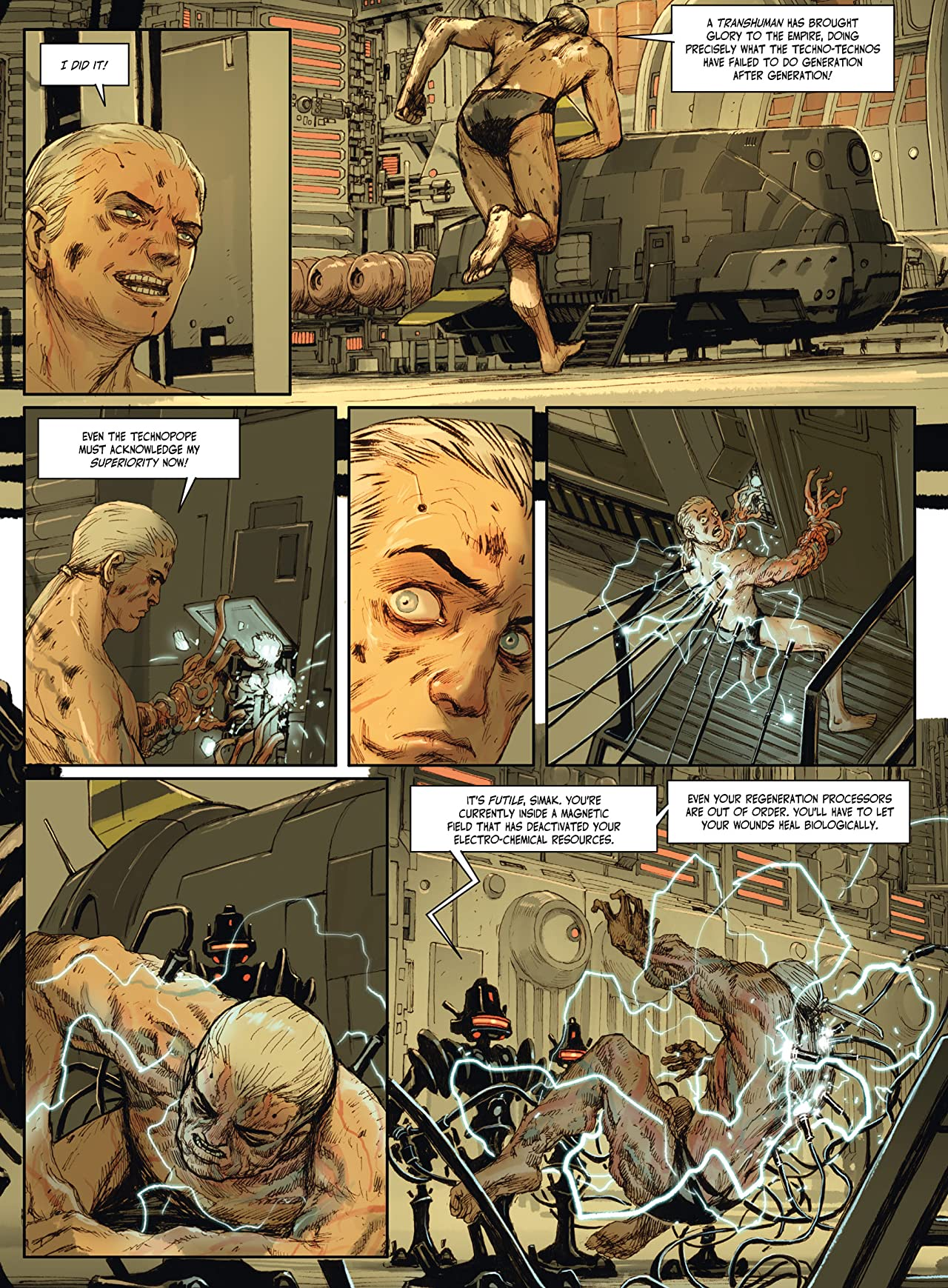 The Metabaron Vol. 4: Simak, The Transhuman