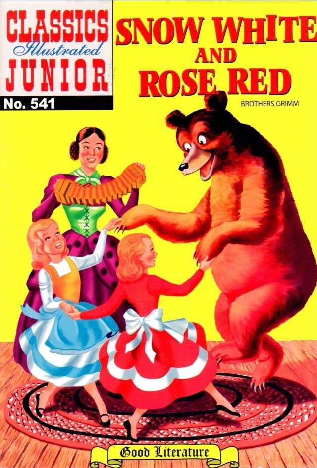 Classics Illustrated Junior #541: Snow White and Red Rose