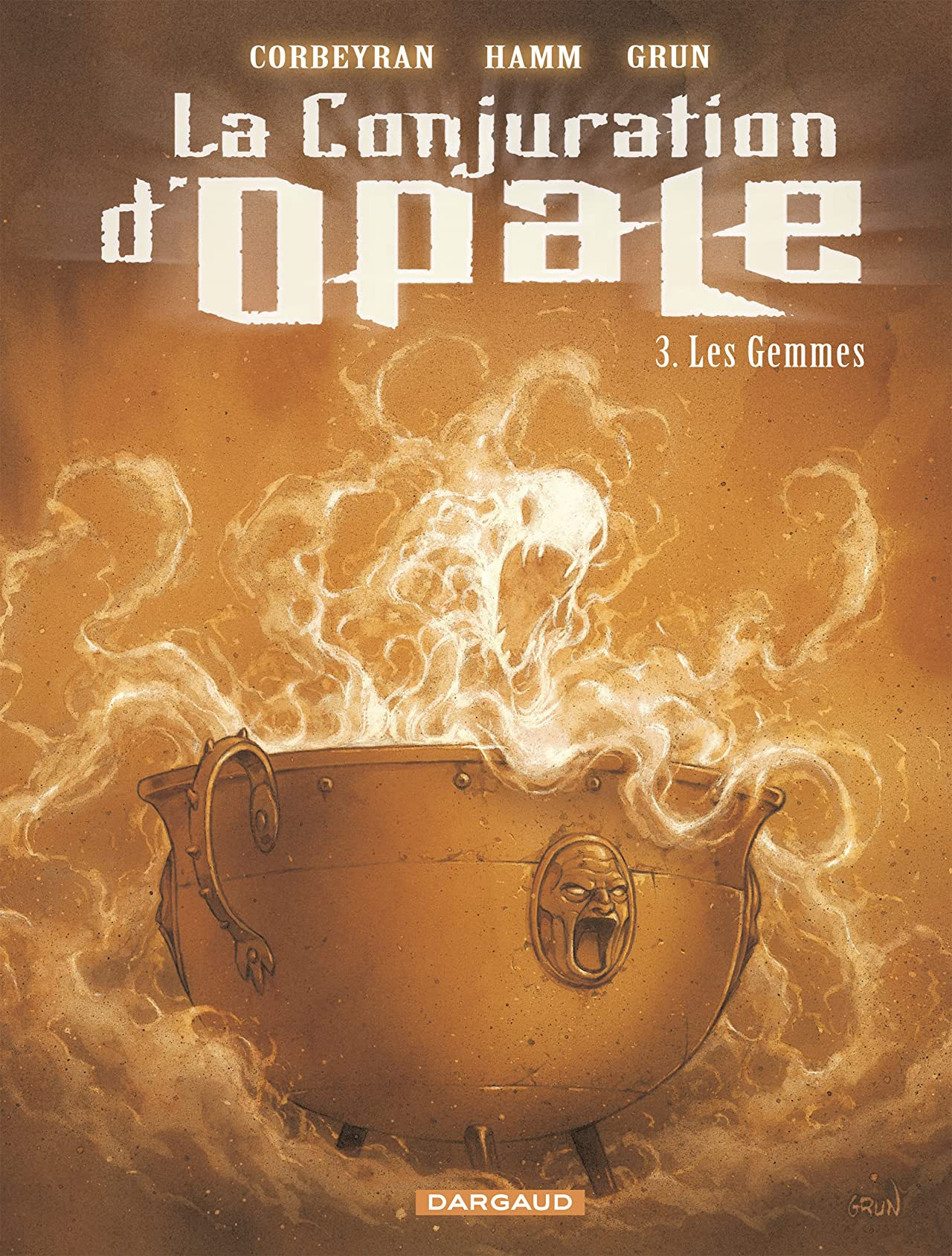 La Conjuration d'Opale Vol. 3: Les Gemmes