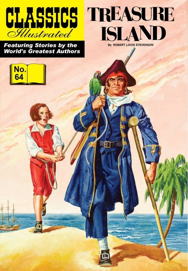 Classics Illustrated #64: Treasure Island