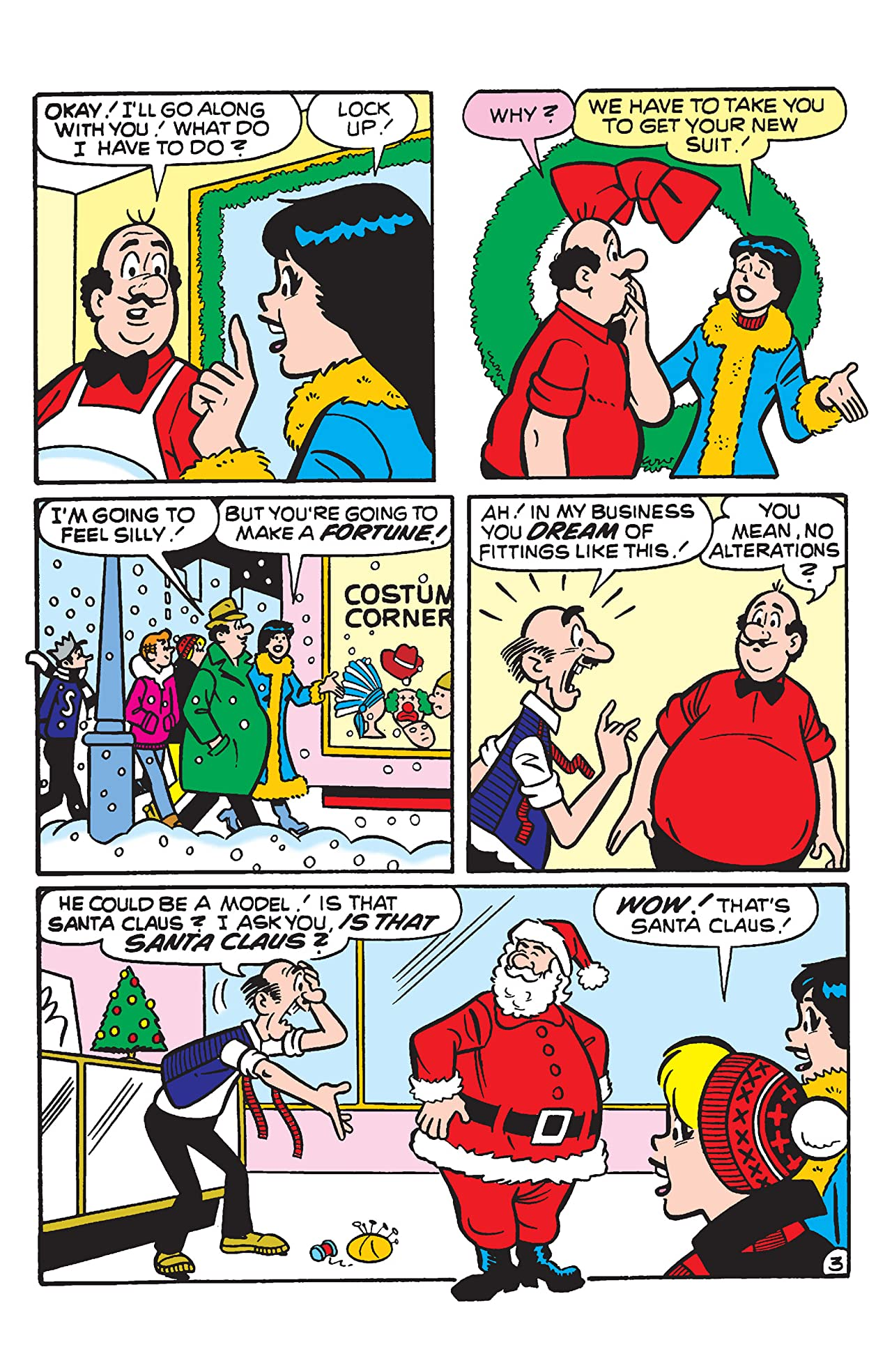 PEP Digital #65: Archie's Christmas Spirit
