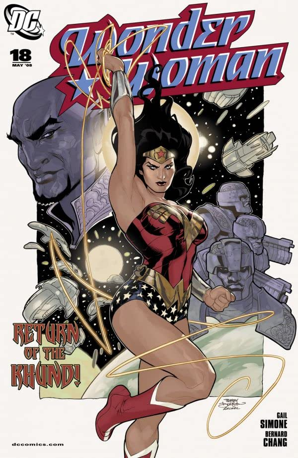 Wonder Woman (2006-2011) #18