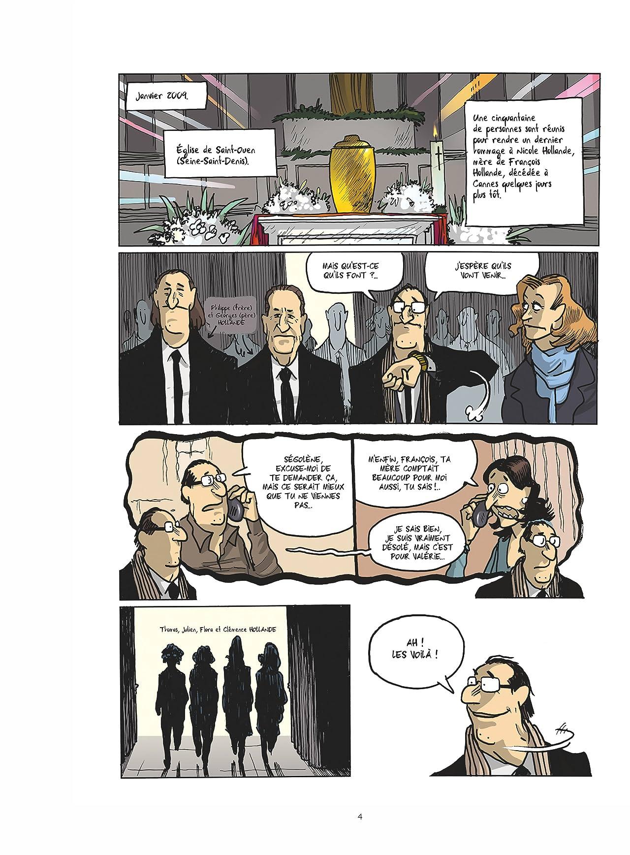 Hollande et ses 2 femmes
