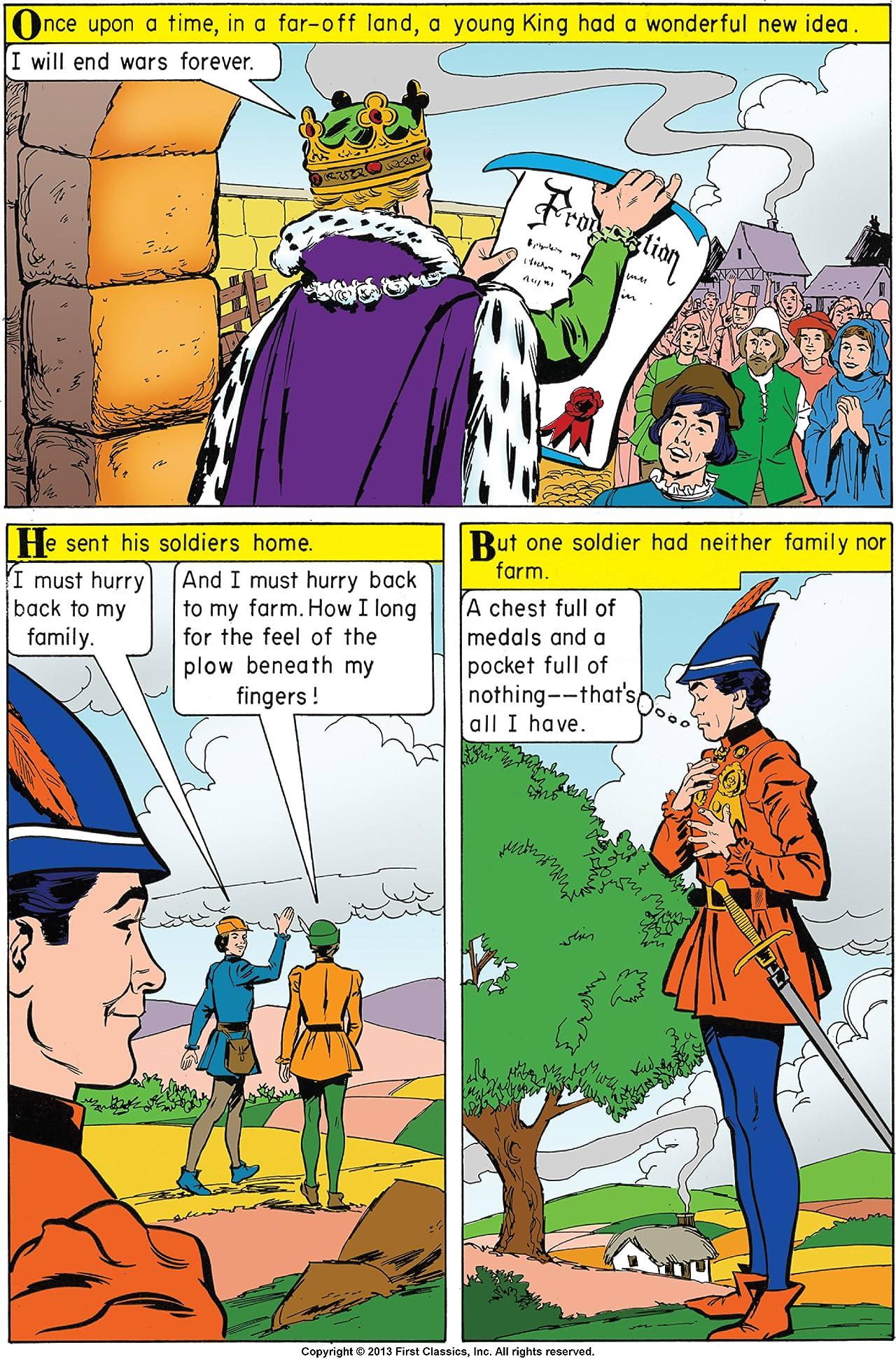 Classics Illustrated Junior #574: Brightboots