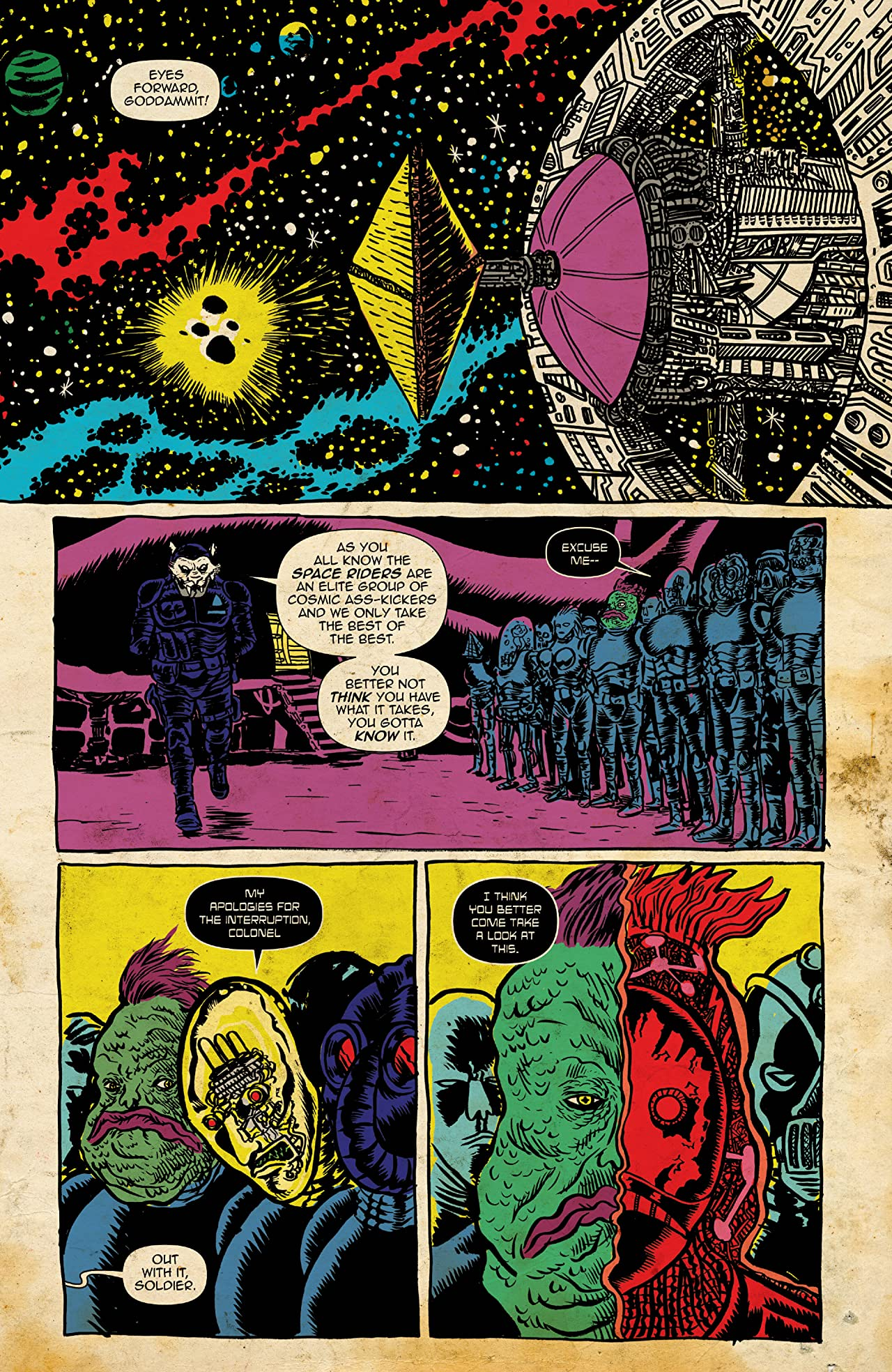Space Riders: Galaxy Of Brutality #2