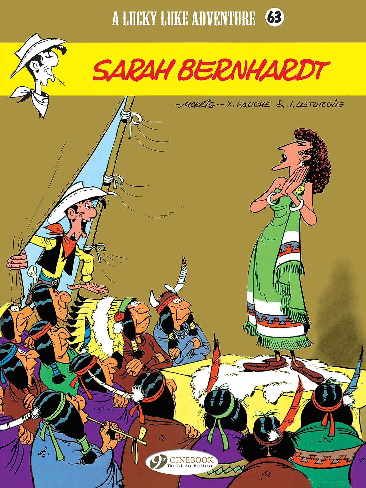 Lucky Luke Vol. 63: Sarah Bernhardt