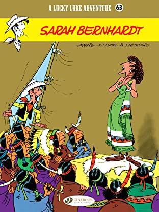 Lucky Luke Vol. 63: Sarah Bernhardt