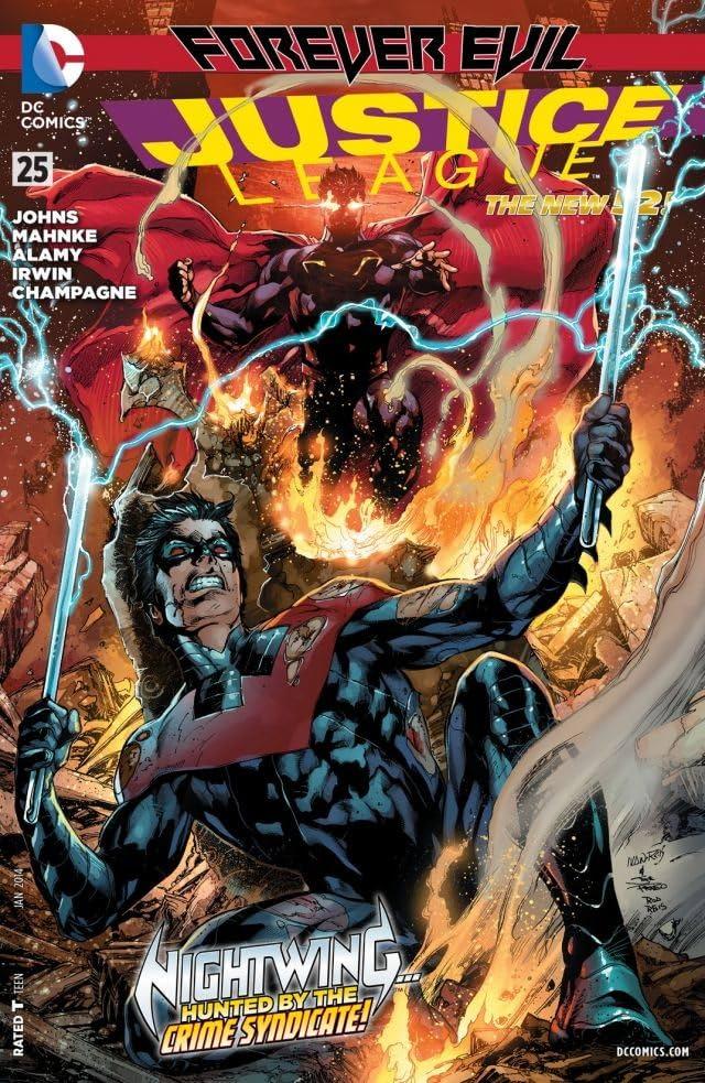 Justice League (2011-) #25