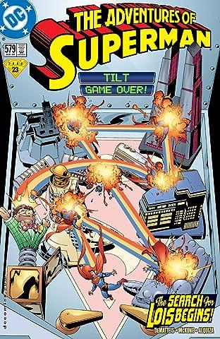 Adventures of Superman (1986-2006) #579