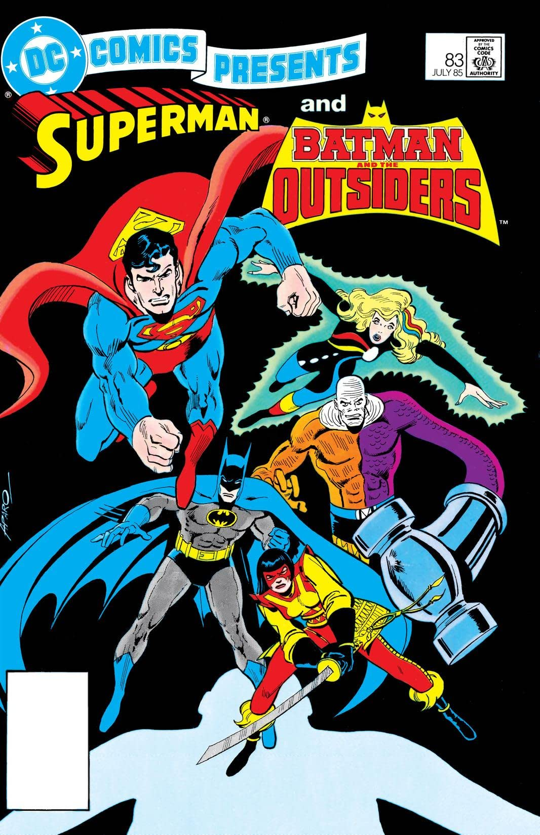 DC Comics Presents (1978-1986) #83