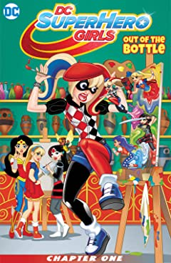 DC Super Hero Girls: Out of the Bottle (2017) #1