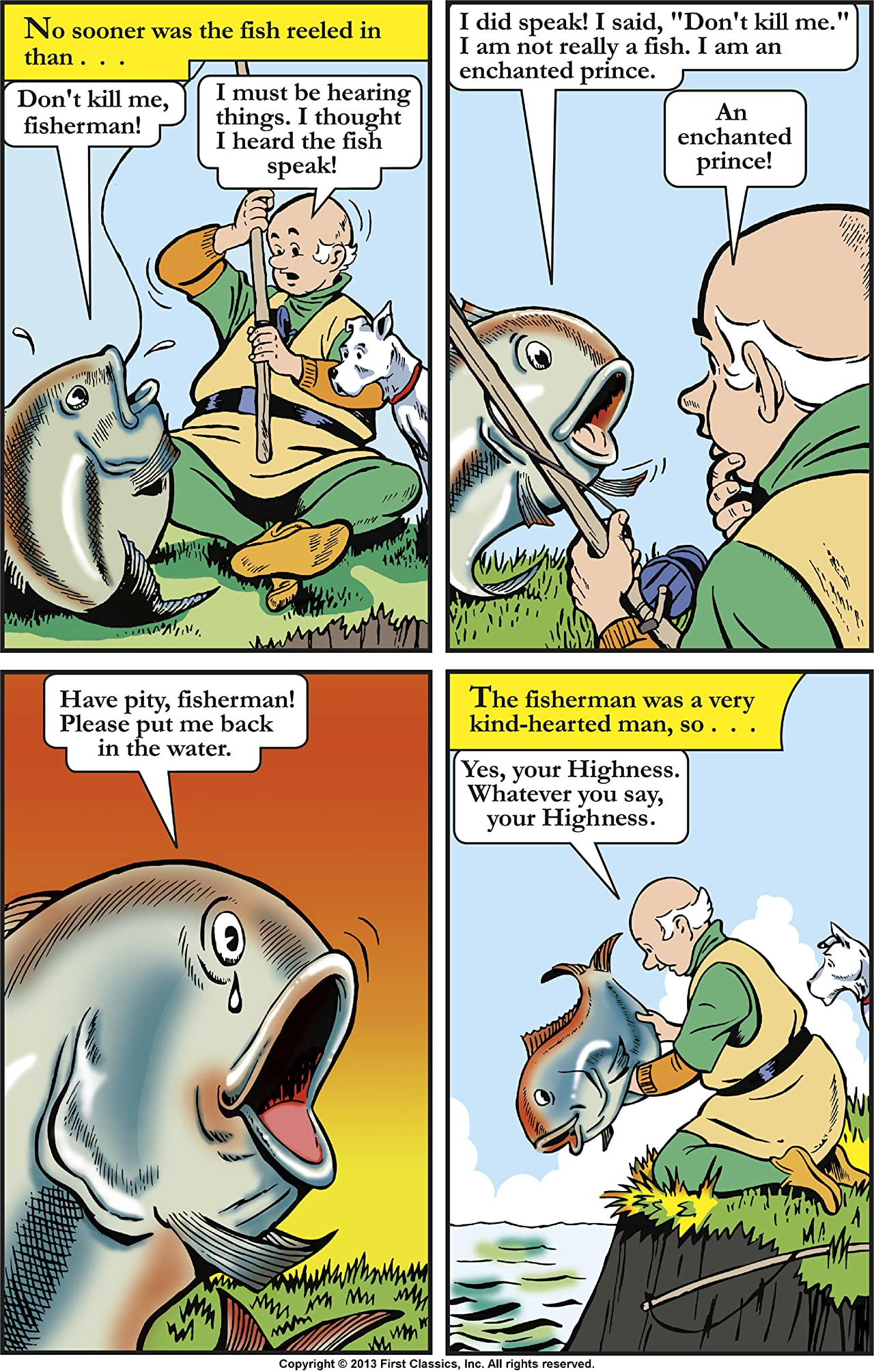 Classics Illustrated Junior #539: The Enchanted Fish