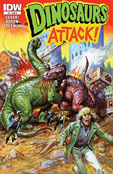 Dinosaurs Attack #4 (of 5)