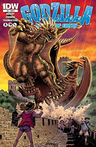 Godzilla: Rulers of Earth No.5