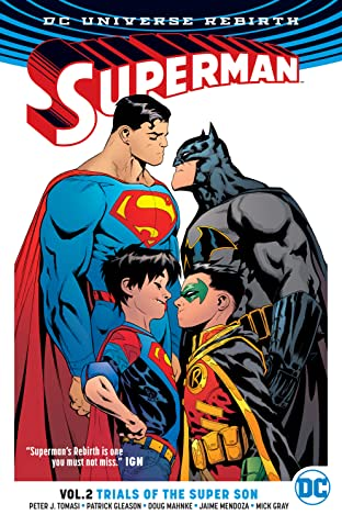 Superman (2016-2018) Tome 2: Trials of the Super Son