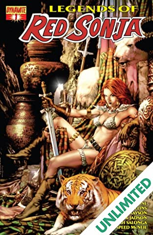 Legends of Red Sonja #1 (of 5): Digital Exclusive Edition