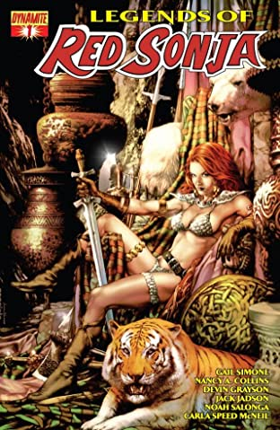 Legends of Red Sonja No.1 (sur 5): Digital Exclusive Edition