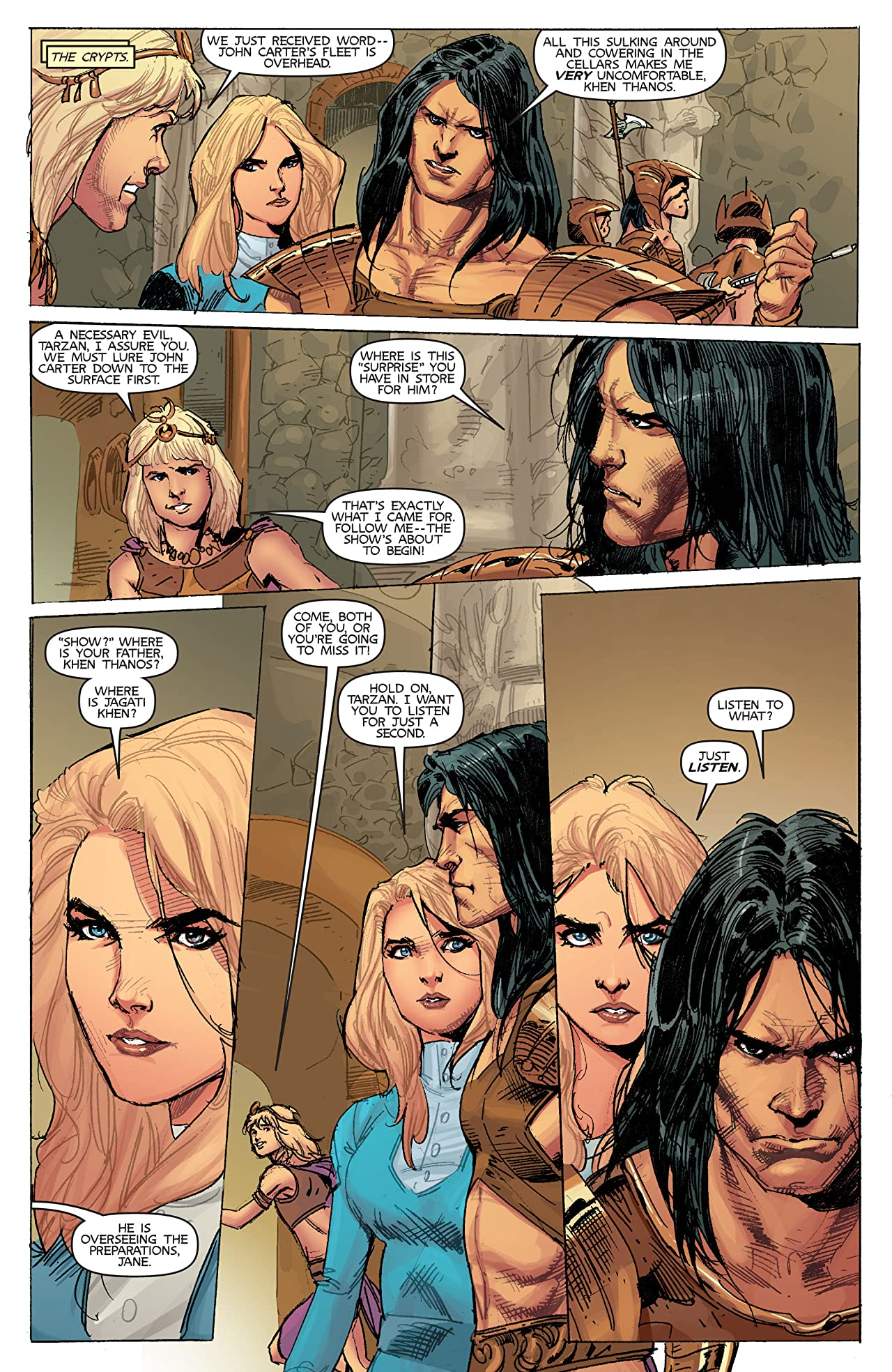 Lords of Mars #4 (of 6)
