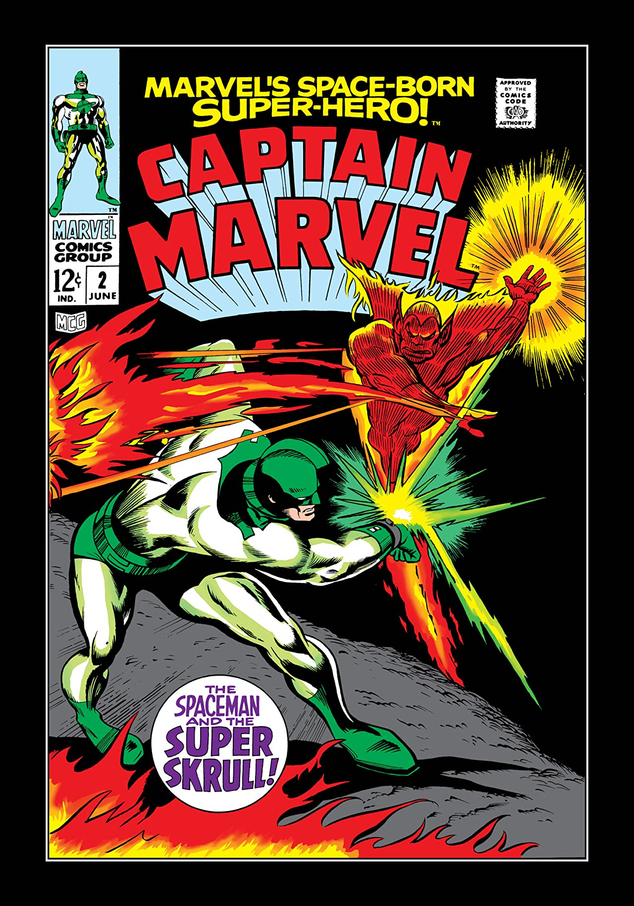 Captain Marvel (1968-1979) #2