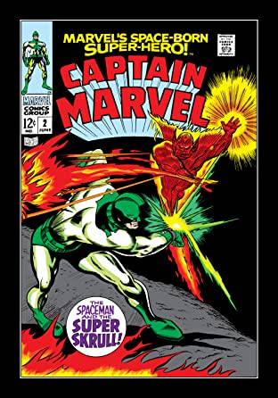 Captain Marvel (1968-1979) No.2