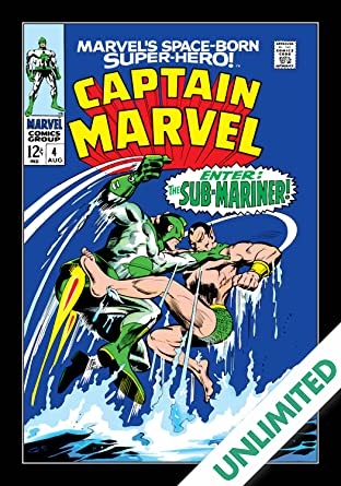 Captain Marvel (1968-1979) #4