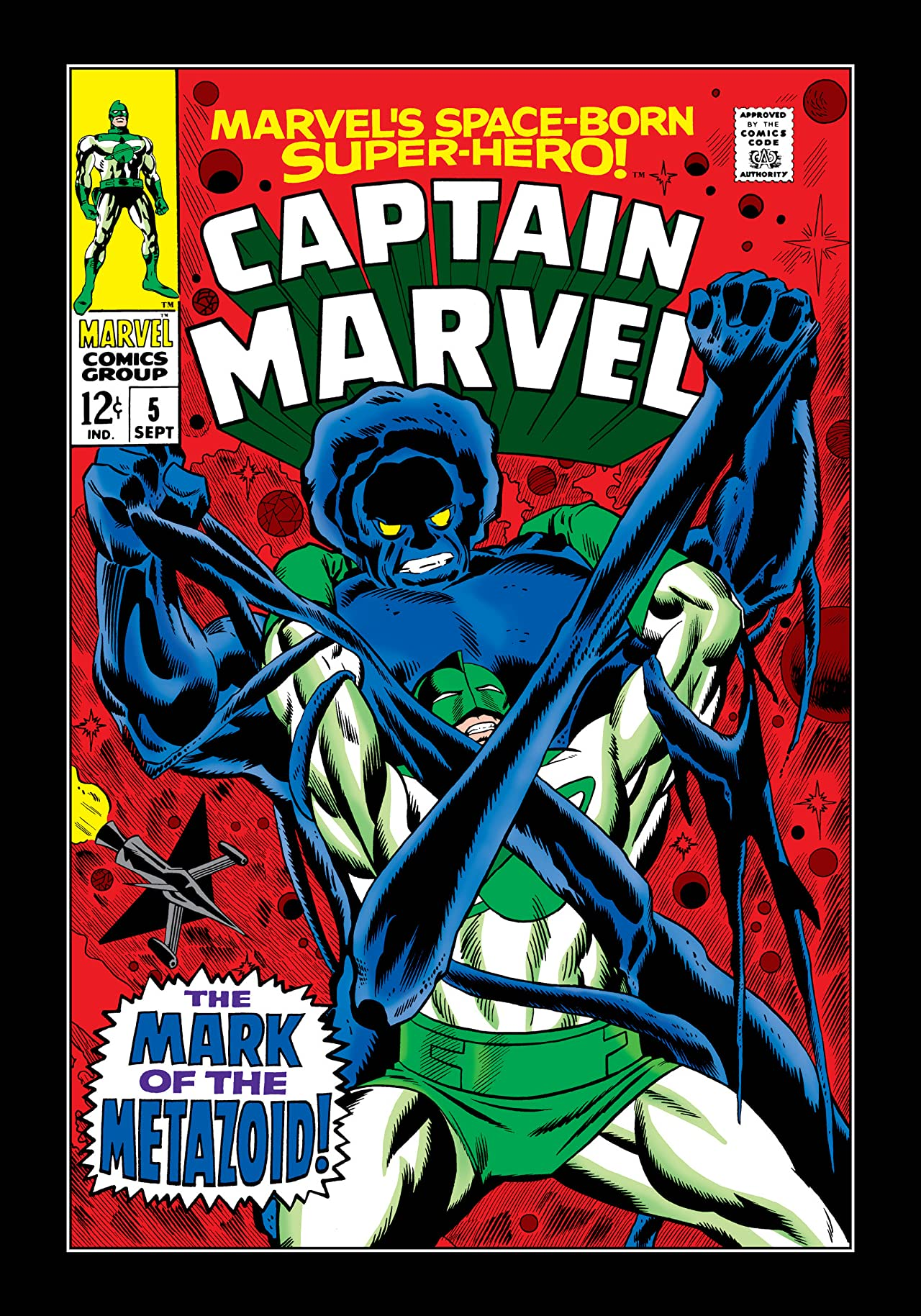 Captain Marvel (1968-1979) #5