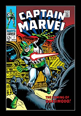 Captain Marvel (1968-1979) #7