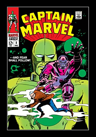 Captain Marvel (1968-1979) #8