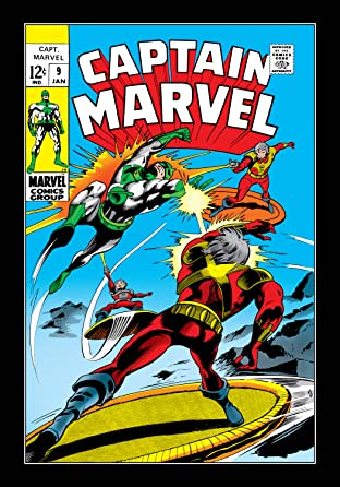 Captain Marvel (1968-1979) #9