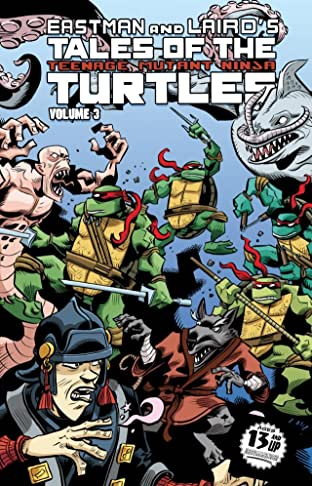 Teenage Mutant Ninja Turtles: Tales of the TMNT Tome 3