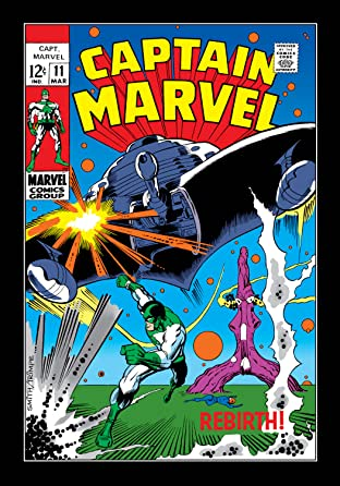 Captain Marvel (1968-1979) No.11