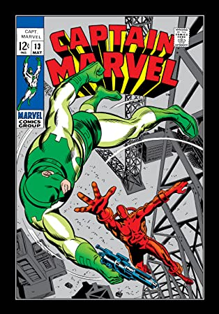 Captain Marvel (1968-1979) #13